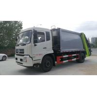 Quality Dongfeng Cummins Engine Garbage Collection Truck Heavy Duty 12cbm - 14cbm for sale