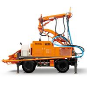 Quality KC2512W Concrete Spraying Equipment , Robotic Shotcrete Manipulator Diesel Motor Power for sale