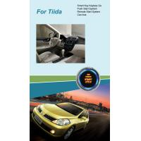 Quality Smart Key with Push Start & Remote Start System for Nissan Tiida for sale