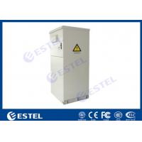 Quality Floor Mounted Outdoor Telecom Enclosure 19 Inch Flame Retardant Materials Anti Rust for sale