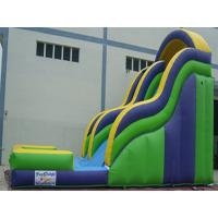 Buy cheap Kids Backyard Inflatable Water Slide With Pool PVC Tarpaulin CE Certificate from wholesalers