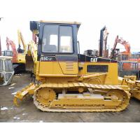 Quality 5 Shanks Ripper Used Crawler Bulldozer With PAT Blade Enclosed Cabin D3C for sale