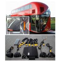 HD Bus Camera System Seamless 360 Degree Bird View With Driving Video Recording and IR