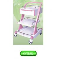 Quality Euro style ABS plastic treatment medical equipment trolley, Lexue Nurse Trolley for sale