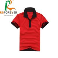 Quality Fashion Blank Polo Collar Shirts Knitted Fabric Type Breathable & Quick Dry for sale