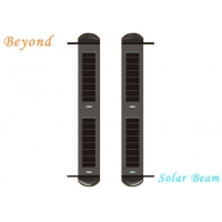 Quality Solar-Powered 4-beam Active Wireless Infrared Solar Beam Light Wall for Courtyard &Fence for sale