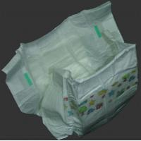 China Babies Disposable Fluff Pulp Dry Surface Leak Guard Printed Diapers on sale