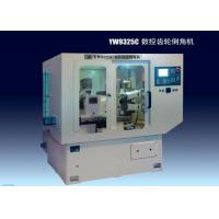 Quality Double Head CNC Gear Chamfering Machine, Intermittent Tooth To Tooth Chamfering for sale