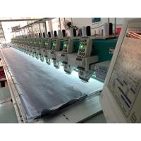 China Refurbished Computer Controlled Embroidery Machine Portable Green Color on sale