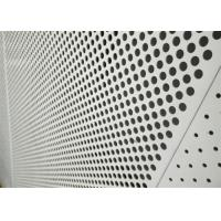 Quality Decorative Perforated Aluminum Sheet 5005 For The Curtain Wall / Electric Conductor for sale