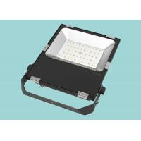 Quality Classic Black Color 50w SMD LED Flood Light Constant Current Circuit Design for sale