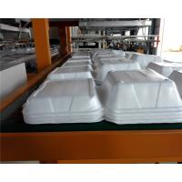 Quality Styrofoam PS Foam Food Container Thermoforming Machine 1000 / 1250mm for sale