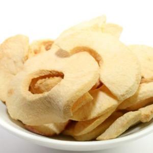 Quality Bulk package crunchy Fuji apple crisps professional manufacturer for sale