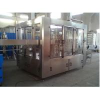 Quality Sparkling Water Bottling Machine / Machinery / Line , Carbonation Soda Plants for sale