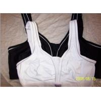 Quality Nylon / Cotton Seamless Anti-Static Adults Front Closure Sports Bra With OEM, ODM Service for sale