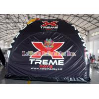 Buy cheap Stable Tarpaulin Inflatable Camping Tent , Trade Show Tent With Spider product