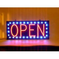 Buy cheap Single Sided LED Open Sign Indoor Fluorescent Sign Window Hanging Display from wholesalers