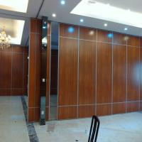 Quality Movable Office Wooden Profiles Aluminum Sliding Wall Partitions for Ballroom for sale