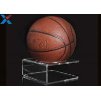 Quality Ball Bracket Acrylic Product Display Stand , Custom Perspex Display Stand for sale