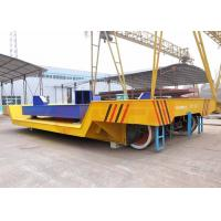 Quality Customized steel ladle transfer carts on rail with electric scale and screen made in china for sale