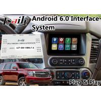 Quality Android 6.0 Multimedia Video Interface for Chevrolet Tahoe / Silverado MyLink System 2015-2018 Mirrorlink Waze for sale