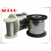 Quality Nicr 60 / 15 Nickel Chromium Wire , Coating Nichrome Wire Heating Element for sale