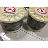 Buy cheap 0.05mm - 12mm Nichrome Alloy Heating / Resistance Alloy Nicr 80/20 Wire 19 Strands product