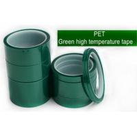 Quality Polyester Silicone Adhesive Electroplating Tape Heat Resistant for sale