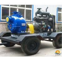 Quality QZX series diesel engine agricultural irrigation self-priming water pump for sale