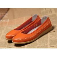 Quality Ladies Flats Soft Comfortable Casual Shoes Flat Shoes Women Natural Leather for sale