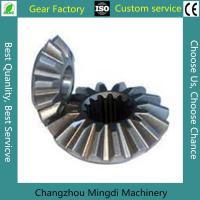 Quality OEM ODM Precision Hobbing Steel Straight Bevel Gear 2 Or 3 Ratio for sale