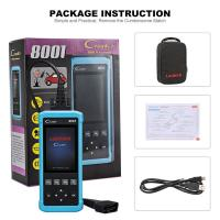 Quality CE Launch DIY Code Reader CReader 8001 CR8001 Full OBD2 Scanner with Oil Resets Service for sale