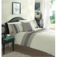 China Pleats Duvet Cover Sets Queen Size on sale