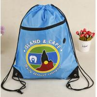 Quality Promotional Customizable 210D Polyester Drawstring Bag for sale