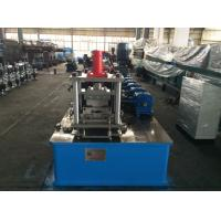 High Speed Steel Stud Roll Forming Machine by Gear Box Cassette Type , Manual Decoiler