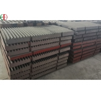 Quality Mn18Cr2Mo Jaw Crusher Ball Mill Liners Spares Components for sale