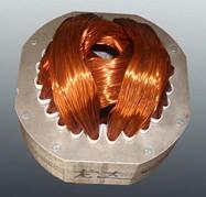 Quality Induction motor stator Winding Coils and wedge embedded in the slots for sale