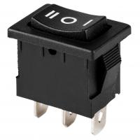China SPDT Miniature Rocker Switch / Center Off Switch With 3 Position 6A 250V on sale