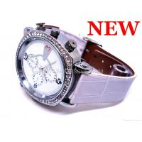 China HD720P Lady Watch Camera with H264 Video Compression Separate Audio Recording Fashion Women Watch on sale