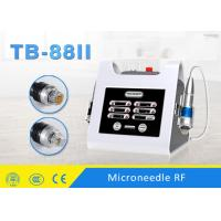 China 0.5-3mm Adjustable Fractional RF Micro Needle Machine For Wrinkle Removal on sale