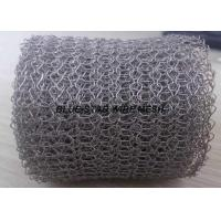 Quality Monel 400 / Inconel 600 Knitted Metal Mesh  Wire Dia 0.1 - 0.3mm For EMI Shielding for sale