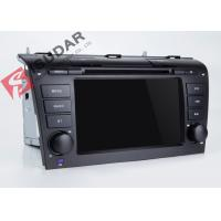 Mazda 3 Touch Screen Head Unit , Wifi Modem Android Gps Car Stereo With Mirrorlink Technology