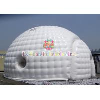 Buy cheap Sealed Type Dome inflatable Igloo / Bubble Tent For Wedding Rental product