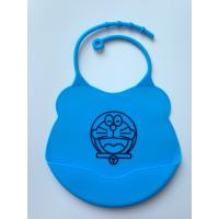 China Washable Over The Head Bibs For Babies , Small Size Baby Girl Dribble Bibs on sale