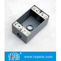 Quality UL Standard Weatherproof Electrical Boxes---- One Gang 3 Holes  Outlet Boxes for sale