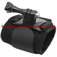 Quality GoPro motion camera holding elastic Velcro  hook loop wrist/arm strap for sale