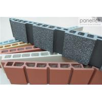 Buy Easy Install Terracotta Wall Cladding System With Thermal Insulation Properties at wholesale prices