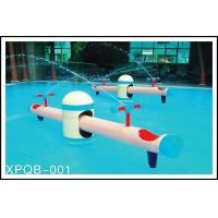 Quality Spray Aqua Park Equipment, Water Sprayground, Seesaw Water Game For Kids for sale