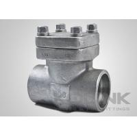 China NPT Threaded Forged Steel Check Valve, Reduced Port, Stainless Steel F304 F316 on sale