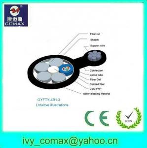 China GYFTC8Y single mode G652 figure 8 Fiber optic cable on sale